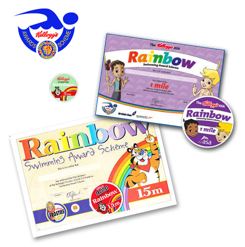 Swimming Badges and Certificates